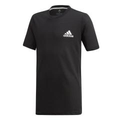 Adidas Boy Escouade T-Shirt - Black/White