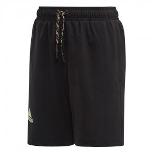 Pantalones Cortos  y Pantalones Boy Adidas Nino New York 7in Shorts  Black EJ7446