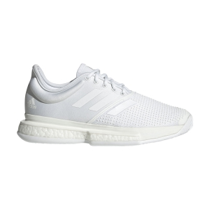 Women`s Tennis Shoes Adidas SoleCourt Boost Parley  White/Core Black EF2073