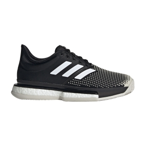 Women`s Tennis Shoes Adidas SoleCourt Boost Clay  Core Black/Ftwr White G26305