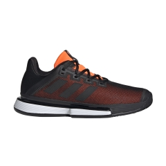 Adidas Adidas SoleMatch Bounce Clay  Core Black/Solar Orange  Core Black/Solar Orange EF4442