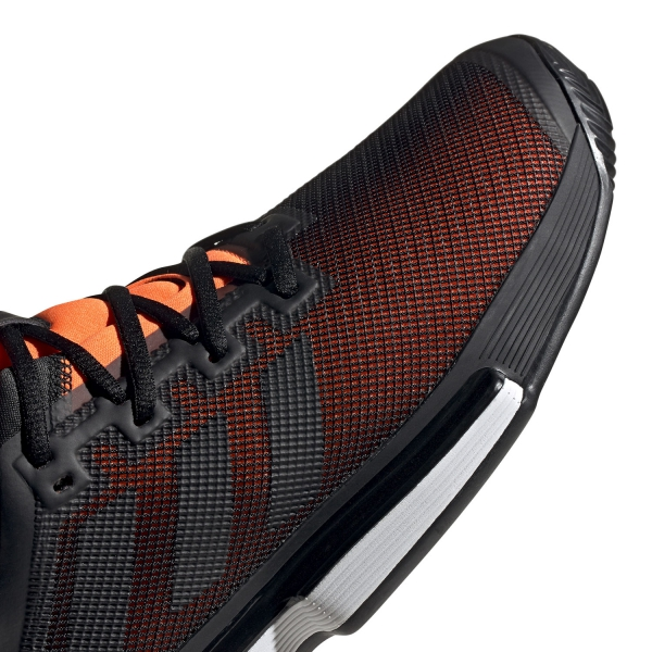 Adidas SoleMatch Bounce Clay - Core Black/Solar Orange