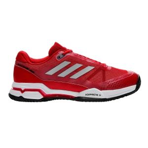 Men`s Tennis Shoes Adidas Barricade Club Clay  Red B28010