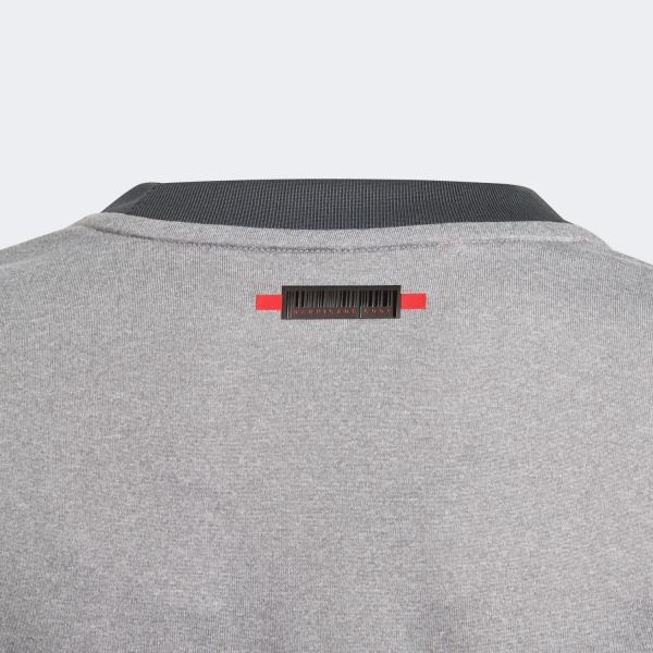 Adidas Boy Barricade T-Shirt - Grey