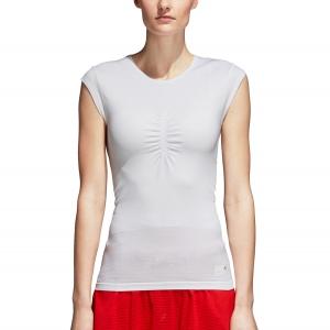 Women`s Tennis T-Shirts and Polos Adidas Stella McCartney Barricade Q3 TShirt  White CY1910