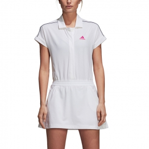 Vestitino Tennis Adidas Seasonal Dress  White CY2266
