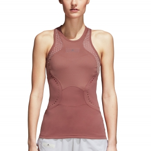 Women`s Tennis Tanks Adidas Stella McCartney Barricade Tank  Dark Pink CY1907