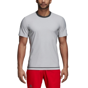 Men's Tennis Shirts Adidas Barricade TShirt  Light Grey CY3320