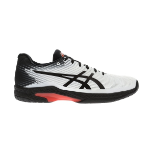 Men`s Tennis Shoes Asics Solution Speed FF  White/Black 1041A003102