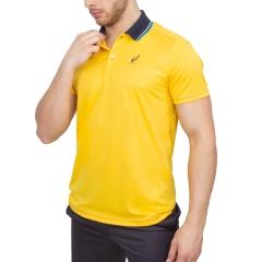 Australian Ace Polo - Yellow/Navy