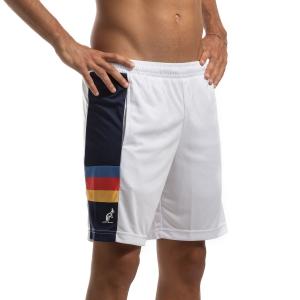 Pantaloncini Tennis Uomo Australian Ace Stripes 7in Pantaloncini  Bianco/Blu I9075006002