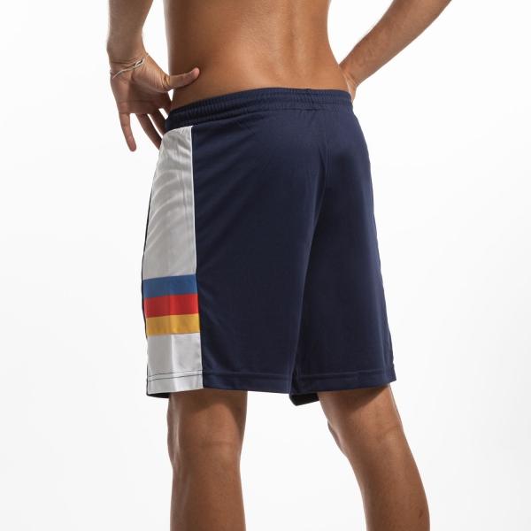 Australian Ace Stripes 8in Shorts - Blu/Bianco