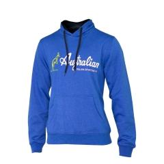 Australian Boy Big Logo Hoodie - Blue