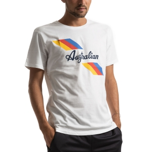 Camisetas de Tenis Hombre Australian Jersey Camiseta  Bianco I9078500002