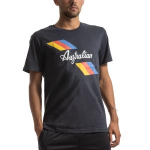Maglietta Tennis Uomo Australian Jersey Maglietta  Blu I9078500200