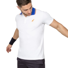 Australian Australian Performance Polo  White/Light Blue/Orange  White/Light Blue/Orange 78232021