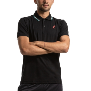 Polo Tennis Uomo Australian Performance Polo  Nero I9078232003