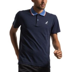 Polo Tennis Uomo Australian Performance Polo  Blu I9078232842