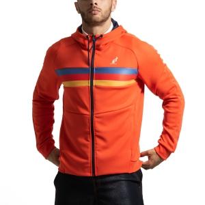 Men's Tennis Jackets Australian Volee Jacket  Arancio I9088620149