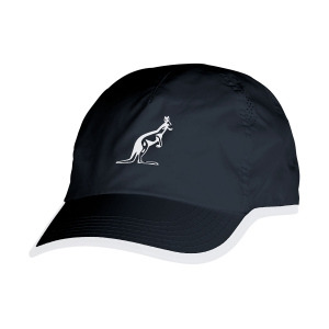 Tennis Hats and Visors Australian Microfibre Cap  Black/White I8029458200