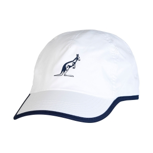 Tennis Hats and Visors Australian Microfibre Cap  White/Navy I8029458002