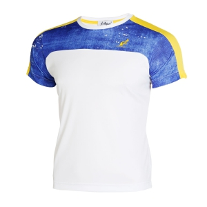 Polo e Shirts Tennis Australian Boy Ace Jeans TShirt  White/Blue/Yellow I8077546002