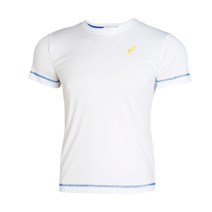 Polo e Shirts Tennis Australian Boy Ace TShirt  White/Blue I8077518022