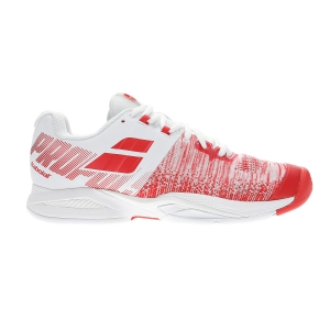 Scarpe Tennis Donna Babolat Propulse Blast All Court  White/Hibiscus 31F194471022