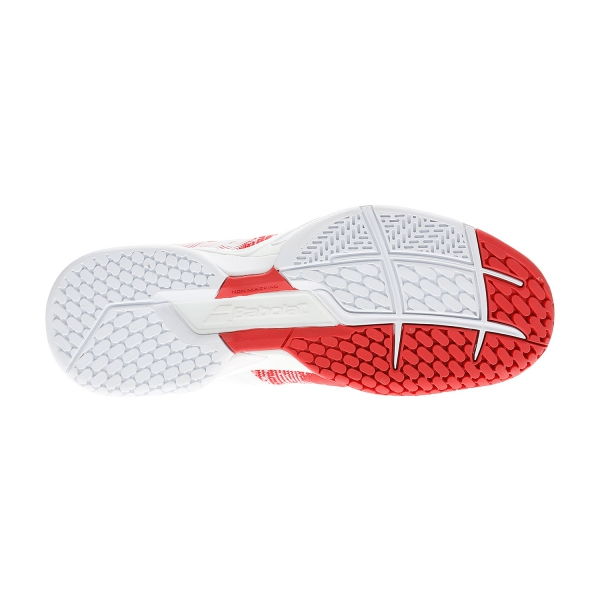 Babolat Propulse Blast All Court - White/Hibiscus