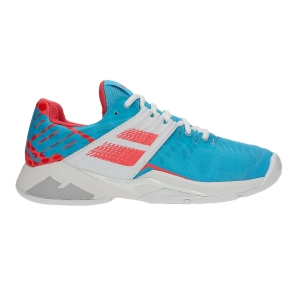 Scarpe Tennis Donna Babolat Propulse Fury All Court  Light Blue/Pink 31S194774044