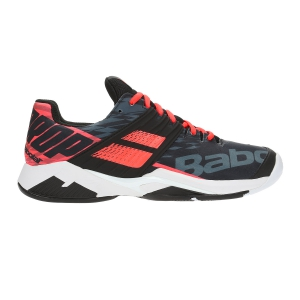 Scarpe Tennis Uomo Babolat Propulse Fury All Court  Black/Fluo Orange 30S192082012