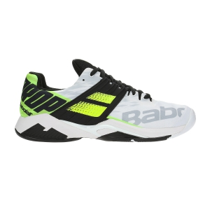 Scarpe Tennis Uomo Babolat Propulse Fury All Court  White/Volt 30S192081021