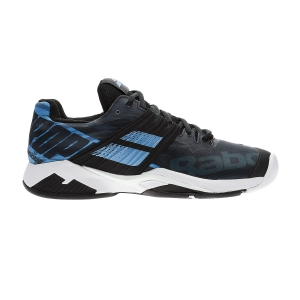 Men`s Tennis Shoes Babolat Propulse Fury All Court  Black/Parisian Blue 30F192082011