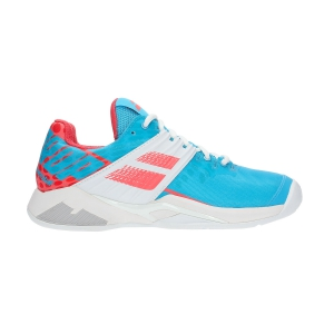 Scarpe Tennis Donna Babolat Propulse Fury Clay  Light Blue/Pink 31S195544044