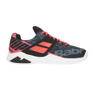 Scarpe Tennis Uomo Babolat Propulse Fury Clay  Black/Fluo Orange 30S194252012