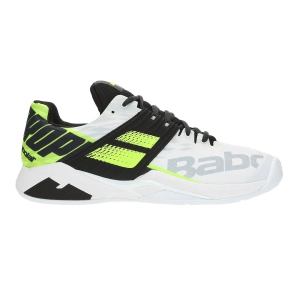 Scarpe Tennis Uomo Babolat Propulse Fury Clay  White/Volt 30S194251021