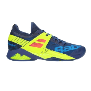 Men`s Tennis Shoes Babolat Propulse Rage All Court  Navy/Volt 30S197694043