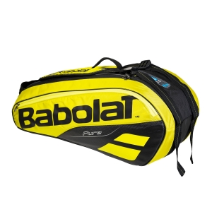 Tennis Bag Babolat Pure Aero x 6 Bag  Yellow/Black 751182191