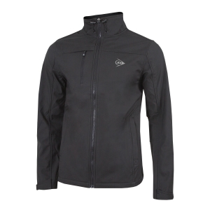 Men's Tennis Jackets Dunlop Essentials Softshell Jacket  Black 52114