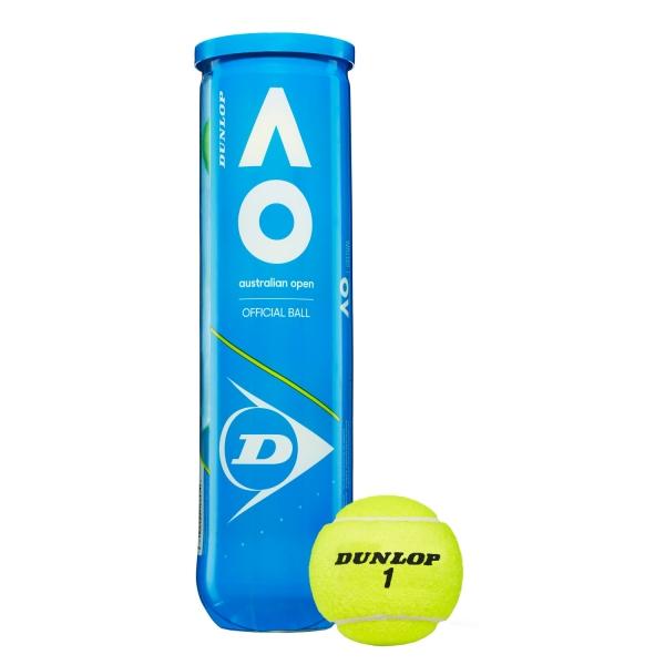 Dunlop Australian Open - 4 Ball Can 601355