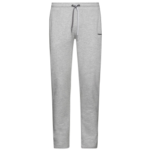 Men's Tennis Pants and Tigths Head Club Byron Pants  Grey/Black 811469GMBK