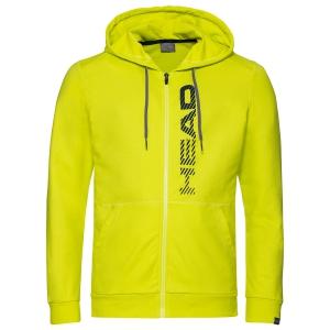 Maglie e Felpe Tennis Uomo Head Club Fynn Felpa  Yellow/Dark Blue 811459YWDB