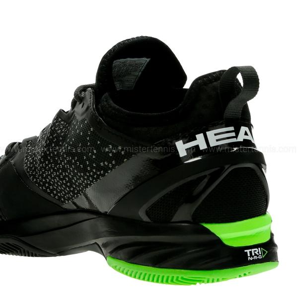 Head Sprint SF Clay - Black/Green