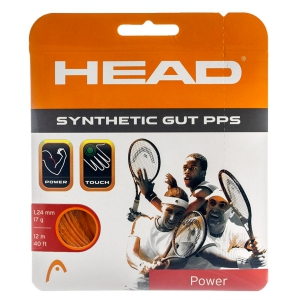 Synthetic Gut String Head Synthetic Gut PPS 1.24 Set 12 m  Orange 281065 17OR