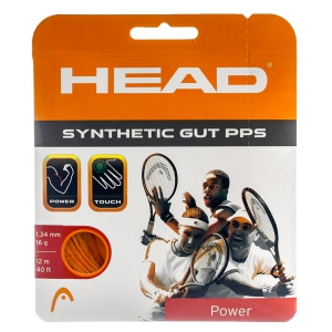 Synthetic Gut String Head Synthetic Gut PPS 1.34 Set 12 m  Orange 281065 16OR