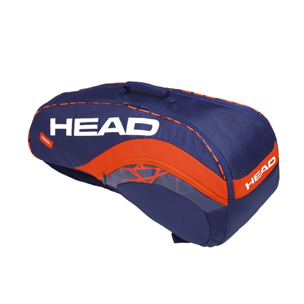 Head Radical x 6 Combi 2019 Bag - Blue/Orange 283329 BLOR