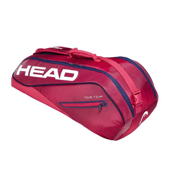 Head Tour Team x 6 Combi 2019 Bag - Purple/Navy 283129 RANV