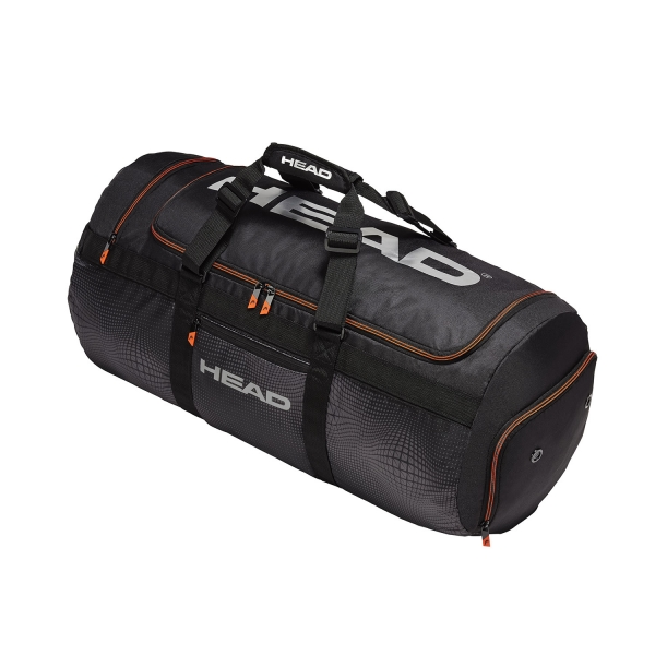 Head Tour Team Sport 2019 Bag - Black/Grey 283159 BKSI