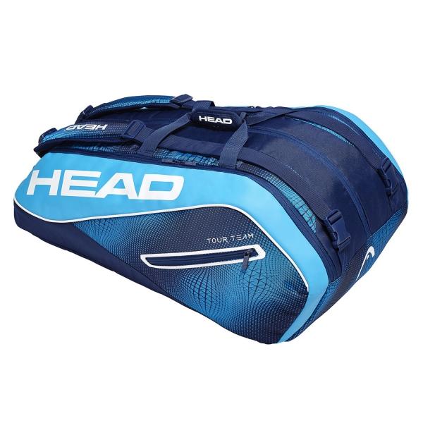 Head Tour Team x 12 Monstercombi 2019 Bag - Navy/Blue 283109 NVBL
