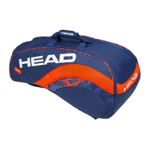 Tennis Bag Head Radical x 9 Supercombi 2019 Bag  Blue/Orange 283319 BLOR
